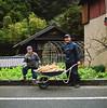 Mt Ryuso Kaido Farmers (Tonx-) Tags: film japan shizuoka portra kodak hasselblad farmer mountains