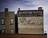 Work Refreshed (Pete Zarria) Tags: montana bar tavern saloon drink alcohol whiskey wine beer ghost sign old red brick decay