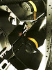 B-17 bombs ready to deploy (Barb Henry) Tags: 1940s b17 airplane ww2 wwii war fighting command aircraft fear ammo retro defend patriotic aerial propeller us united states tim bombs weapons instruments