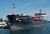 Algonova Docked at Sault Ste. Marie Ontario (KRFoto) Tags: transportation upperpeninsula algonova ship saultstemarie lakefreighter michigan