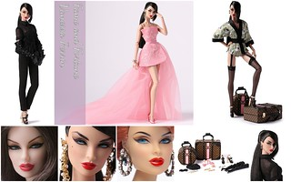 Fame and Fortune Vanessa Perrin Giftset - 5th WClub Doll 2017