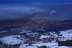 Nebelgrenze / Fog limit (Claudia Bacher Photography) Tags: hinwil zürichoberland winter schnee snow morning fog nebel clouds wolken landschaft landscape outdoor schweiz suisse switzerland sonya7r