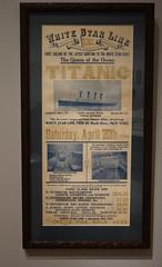 Titanic Poster (RockN) Tags: titanic advertisement linerexhibit peabodyessexmuseum salem massachusetts newengland june2017