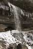 IMG_4910 (jackie.moonlight) Tags: western north carolina wnc waterfall ice icy nantahala national forest bridal veil falls highlands nc hwy highway 64