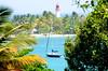 Guadeloupe (H..L) Tags: livolsi nikon d3100 guadeloupe caraibes carribean soleil couleurs voilier paysage mer palmiers