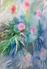 Cardos 3 (benilder) Tags: cardos thistles chardons acuarela watercolor watercolour aquarelle benilde