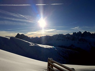 ...a perfect winter-day on the top of Plose,AltoAdige, Italia.....