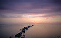 Serenity (koos.dewit) Tags: nl 2017 friesland fujifilm fujifilmxt2 fujinonxf1024mm koosdewit le lee leefilters longexposure thenetherlands colours koosdewitnl sea seascape sun sunset water