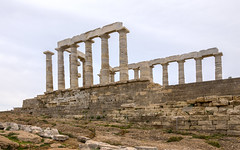 Temple Of Poseidon - Cape Sounion, Attica, Greece (Ava Babili) Tags: attica greece sounion temple archeology poseidon architecture antiquity