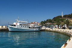 Podgora, Croatia (ZdenHer) Tags: sea ship sky podgora