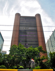 Wisma Argo Manunggal (Ya, saya inBaliTimur (leaving)) Tags: jakarta building gedung architecture arsitektur office kantor