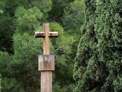 Crucero del Valle del Olivar (Fernando+Merced) Tags: cruz crucero monasterio olivar teruel aragón