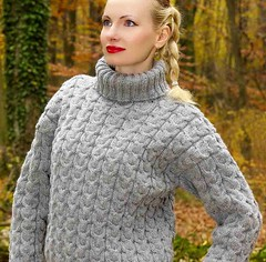 Classic turtleneck pattern (Mytwist) Tags: knit knitwear style fashion outfit tn tneck wool fetish retro classic craft winter women blonde sexy sweatergirl sweater design love girl wife