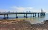 Bandra Worli Sea Link (Sougata2013) Tags: mumbai maharashtra india arabiansea bandraworlisealink sealink bridge skyline bandrafort fort
