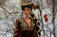 Priscilla in winter (Emily-Noiret) Tags: juliet mattel doll barbie mackie vintage collection princess winter