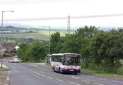 First 60571, Sheffield Road, Swallownest, 2009 (Lady Wulfrun) Tags: first sheffield 60571 m734vet sheffieldroad swallownest june 2009