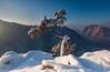 Sokolica winter (Dariusz Wieclawski) Tags: pieniny kingapieninska gory mountains mist morning mistymorning snow snieg tatry nikon nikond700 nikondslrcarlzeiss distagont3518 nikkond700users landscape pejzaz zima winetr