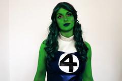 she hulk (marcosmallred) Tags: shehulk marvel comic comics cosplay cosplaygirl cosplayer hulk portrait