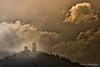 San Severino marche. (Luca-Anconetani) Tags: sunset italy lucaanconetani luceradente travel paesaggimaceratesi regionemarche lemarche citta borghi sanseverinom sanseverinomarche nikon nuvole cielo sky tramonto architettura cityscape