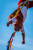 The Color of the Papantla Flyer. (Johan Medina Fotografía) Tags: ifttt 500px color mexico freedom colors photo moment jumping photography colorful shorts sports shot traditional tradition image skipping vitality midair cultur arms outstretched legs apart standing one leg raised sun visor