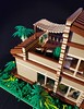 Cocoa Jungle Cottage MOC sunny terrace (betweenbrickwalls) Tags: lego afol moc houses cottages weekendhomes architecture toys