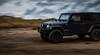 Wrangler XV (Skyrocket Photography) Tags: jeep wrangler rubicon storm tucson arizona dan santamaria skyrocket photography blue sexy rugged mudding off road vehicle