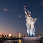 The Statue of Liberty - Tokyo, Japan - Travel photography thumbnail