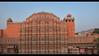 The amazing red sandstone Hawa Mahal (Palace of the Winds), Jaipur, India (jitenshaman) Tags: asia asian travel destination worldlocations india indian rajasthan rajasthani jaipur touristattraction tourism tourist attraction rajput rajputs maharajas maharaja sandstone architecture palace hawamahal palaceofthewinds mughal facade zenana lattice lattices latticework