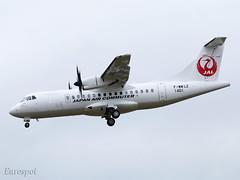 F-WWLZ (@Eurospot) Tags: fwwlz ja03jc atr atr42 toulouse blagnac japanaircommuter