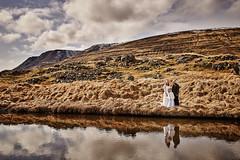 Sabrina & Dennis (LalliSig) Tags: hvalfjörður wedding photographer may iceland people portrait portraiture spring water reflection