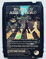 The Beatles (1969) Abbey Road (Christian Montone) Tags: 8tracks tapes tape cassette cartridge 8tracktape 1960s 60s beatles