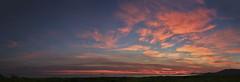 SUNSET IN MAREMMA PANO (opaxir) Tags: tramonto sunset sea mare maremma castiglionedellapescaia toscana tuscany tirreno tirrenosea