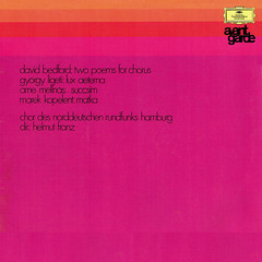 Avant Garde Bedfor • Ligeti • Mellnäs • Kopelent • Music for Chorus - Franz DGG Tulips 1 (sacqueboutier) Tags: vintage vinyl vinylcollection vinyllover vinylnation vinylcollector lp lplover lps lpcollection lpcover lpcollector lpcoverart lpcoverlover records record classical classicalmusic music deutschegrammophon tulips