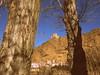 El castillo (kirru11) Tags: castillo paisaje árboles troncos peñas rocas cielo casas pueblo quel larioja españa kirru11 anaechebarria canonpowershot