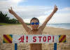 North Korean boy on a beach in front of stop sign, North Hamgyong Province, Chilbo Sea, North Korea (Eric Lafforgue) Tags: 1112years 910years asia asianethnicity beach boy boys cheerful chilbosea child children communism day dictatorship dprk goggles happy holidays horizontal joyous leisure nk119826 northhamgyongprovince northkorea northkorean oneperson outdoors people portrait sand standing stopsign traveldestinations vacations victoryposition youngboys 北朝鮮 북한 朝鮮民主主義人民共和国 조선 coreadelnorte coréedunord coréiadonorte coreiadonorte 조선민주주의인민공화국 เกาหลีเหนือ קוריאההצפונית koreapółnocna koreautara kuzeykore nordkorea північнакорея севернакореја севернакорея severníkorea βόρειακορέα