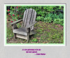 A Spot to Gather Wool (hickmanjack) Tags: chair adirondack shade rose hosta grass wildviolets