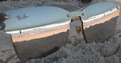 Reflections - The Beach (Jose Haroldo Sena) Tags: reflexo reflection praia beach cumbuco ceará brasil brazil óculos glass sumglass abstract abstrato