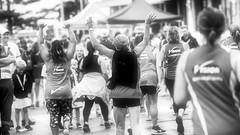 The finishing line (12) (geemuses) Tags: sunrun manly newsouthwales nsw northernbeaches running run exercise deewhy distance funrun challenge sport men women girls man woman smiles happiness path celebration finish