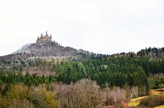 Hohenzollern Castle (DrQ_Emilian) Tags: lanscape view hills castle building old architecture history woods trees light colors details outdoors explore travel hohenzollern tübingen badenwürttemberg germany europe contrast photography hobby