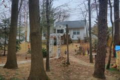 Back Yard Landscape (hank278) Tags: backyard trees house photoaday pad highdynamicrange hdr