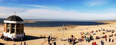 Vorfreude auf den nächsten Sommer (sabine1955) Tags: borkum strand beach northsea nordsee blau promenade pavillion
