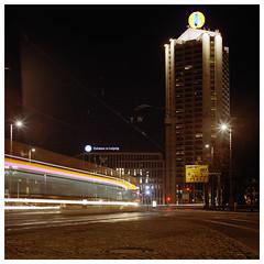 movingcity (Simon Klemmer) Tags: hasselblad 500cm kodak portra 80mm planar night tripod leipzig city germany film