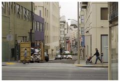 San Francisco_0105.1 (Thomas Willard) Tags: california street urban walk sanfrancisco people alley pedestrian building car