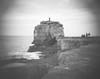 (Attila Pasek) Tags: 4x5 anniversaryspeedgraphic graflex portlandbill pulpitrock uk xray bw bokeh cliff film largeformat lens petzval projector rock sea unknown wave