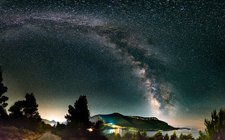 MIlkyway over Zuljana - Croatia