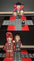Doctor Strange vs The Ant Man (Letgoofmylego) Tags: ironman doctorstrange drstrange antman lego marvelsuperheroeslego mavrel marvel comixs comics scarletwitch minifigures minigfig