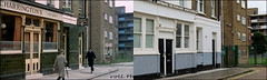 Bayham Place`1964-2018 (roll the dice) Tags: london camden nw1 pub publichouse boozer police copper arrest mad sad fun funny film french surreal canon tourism tourists fashion corner beer ale drinking filming locations actor changes collection classic art uk urban england local history sixties retro bygone nostalgia comparison oldandnew pastandpresent hereandnow vanished demolished lost flats dwelling windows streetfurniture architecture comedy chase allezfrance uniform stout charringtons nicked oldbill lights balcony entrance brockham faversham council sign gate fence pc