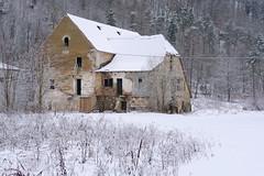 Buchberg (Harald Reichmann) Tags: niederösterreich buchberg haus gebäude ruine bauwerk verfall geschichte winter schnee wald landschaft lostplace