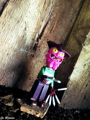 You can run, but you can't hide, bitch (JoeyDee83) Tags: rick morty horror vinyl toy geek freddy kreuger lego mega bloks mcfarlane scary terry