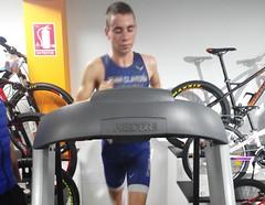 Rubén Pereira triatlón Indoor team clavería triatlón World 4